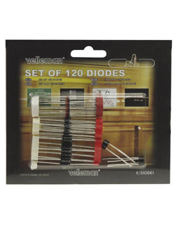 Assortiment 120 Diodes