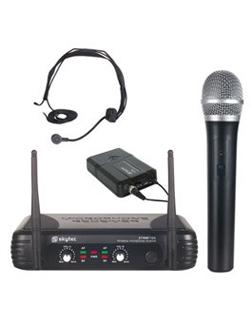 Microfoon Sys 2-kanaals Combi